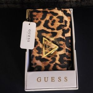 New Guess beautiful Leopard wallet